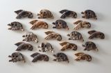 Group of 'Endurance' skulls 1995. dimensions variable.